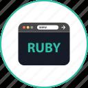 browser, coding, development, online, ruby, web, www