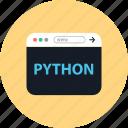 browser, coding, development, online, python, web, www
