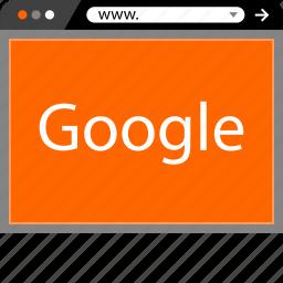 google, internet, now, online, web icon