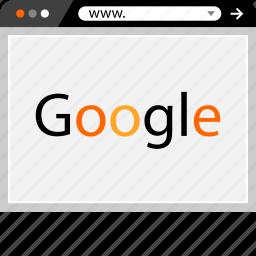 google, internet, online, search, web icon