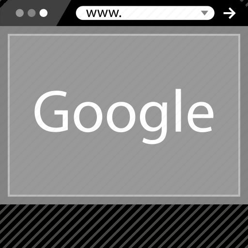 arrow, forward, go, google, pointer, www icon