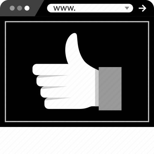 Facebook, good, like, online, thumbs, up, web icon - Download on Iconfinder