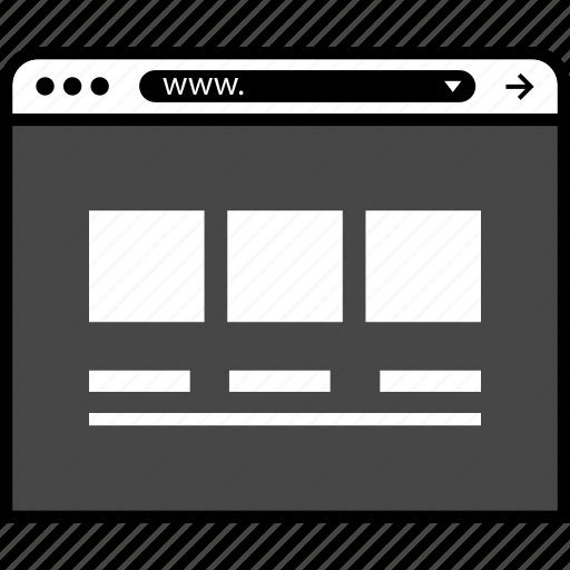 mockup, page, ui, ux, web icon