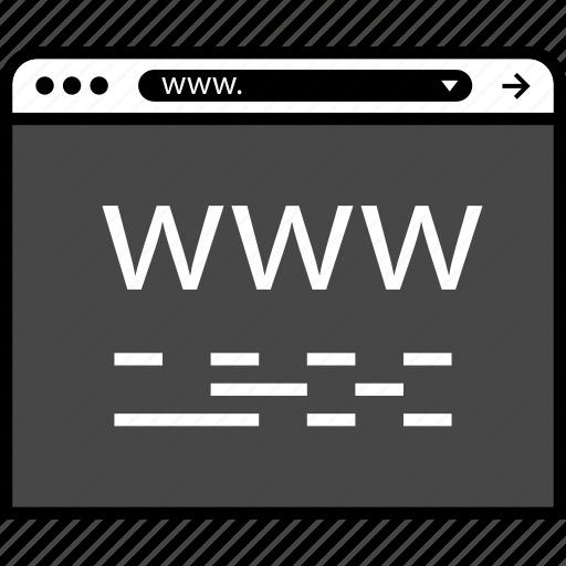 online, ruby, script, web, www icon