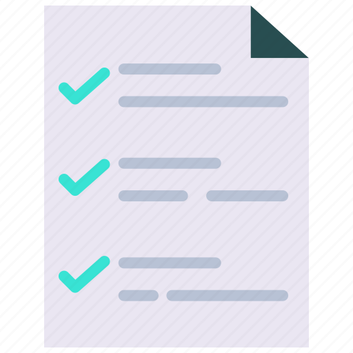 checklist, checkmark, clipboard, plan, tasks, todo list icon