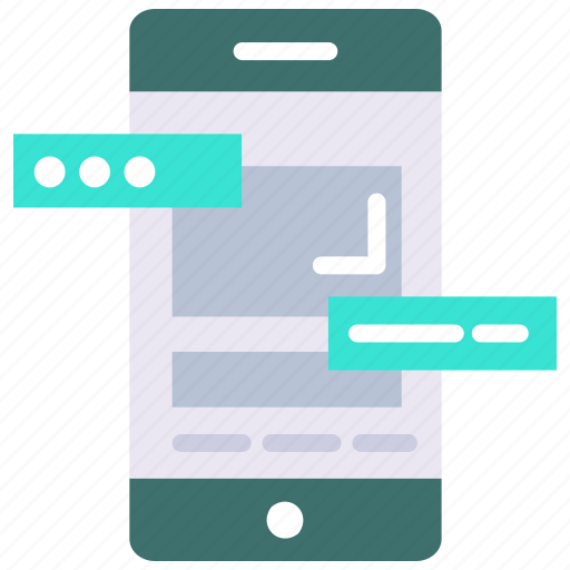 chat, communication, data privacy, message, notification icon