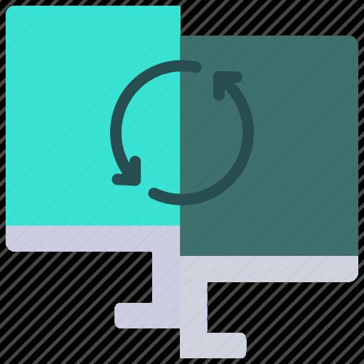 backup, data, data sync, sync, synchronization, syncing icon