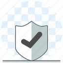 development, protect, secure, stability, validated, web, website icon