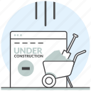 coming soon, construction, development, making, under, web, website