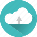 cloud, document, file, server, storage, upload icon