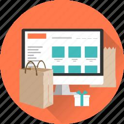 eshop, internet marketing, market, shop, shopping, web, website icon