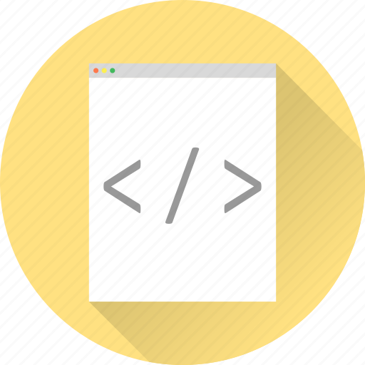 code, development, html, programm, tags, web design, web development icon