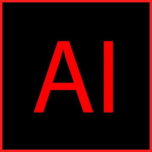file, illustrator, software icon