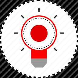 brilliant, designer, idea, thought icon