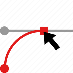 edit, graphic, point, web icon