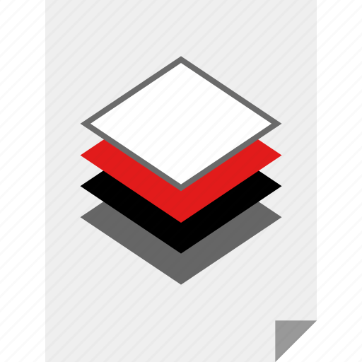 layers, multiple, page, three icon