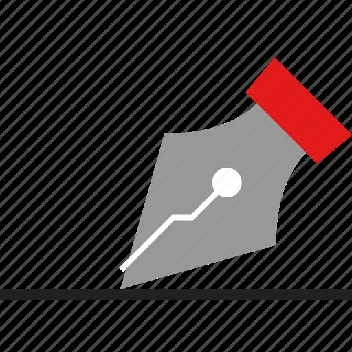create, design, pen, tool icon
