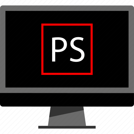 online, photoshop, web icon