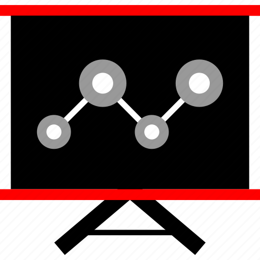 analytics, board, seo, web icon