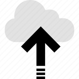 cloud, file, send, upload icon