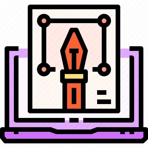 design, laptop, page, tool, vecter, web icon