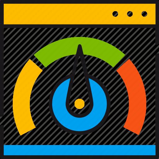 efficiency, fast, internet, pointer, speed, speedtest, true icon