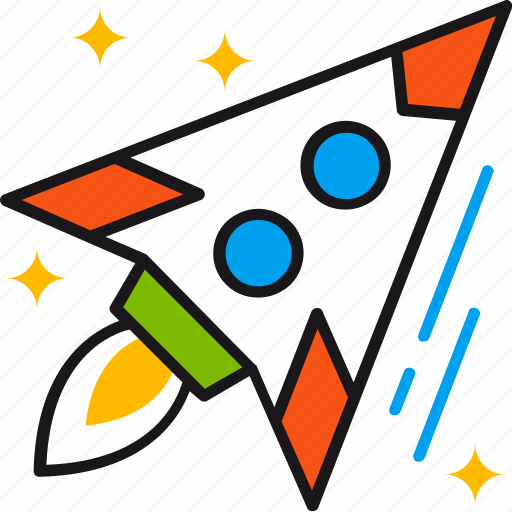 business, goal, growth, new, rocket, scaleup, startup icon