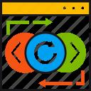 navigation, web, design, ui, ux, arrows, code