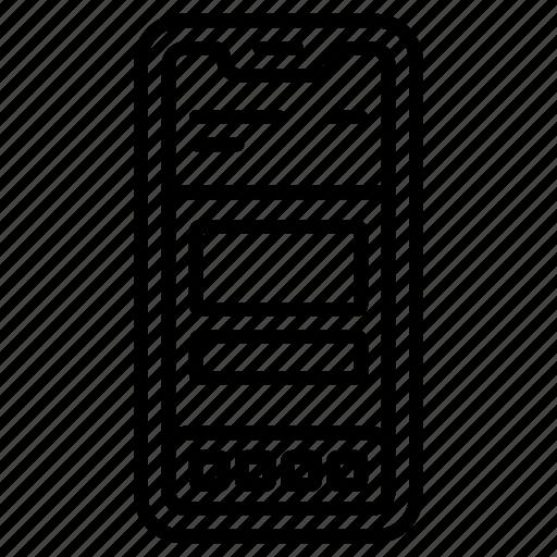 design, phone, responsive, smart, ui, web icon