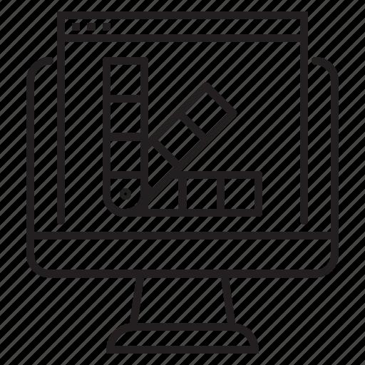 'Web development line art' by kerismaker