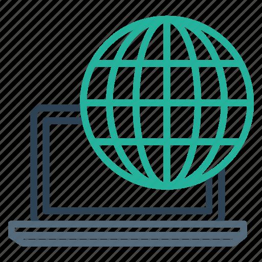 computer, connection, device, internet, laptop, seo, web icon