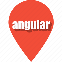 angular, coding, development, pin, programming, web, website icon