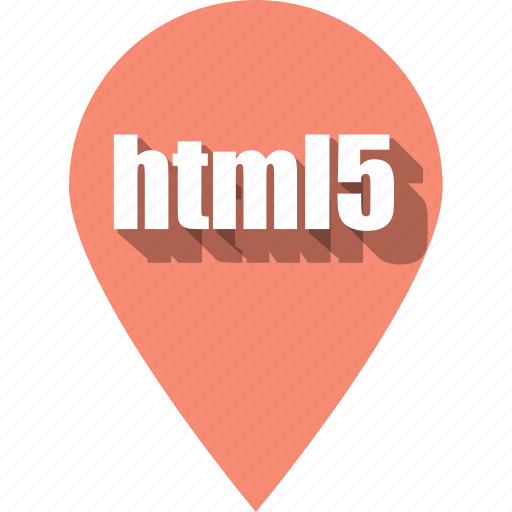 coding, development, html, pin, programming, web icon