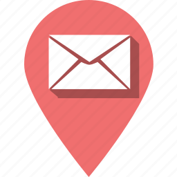 communication, development, email, envelope, mail, message, pin icon