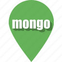 coding, development, mongo, pin, programming, web, website icon