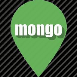 coding, development, mongo, pin, programming, web, website icon