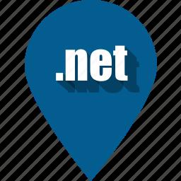coding, development, net, pin, programming, web, website icon