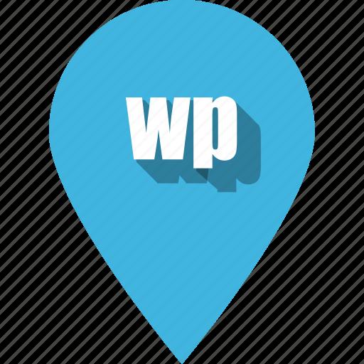 coding, development, pin, programming, web, website, wordpress icon