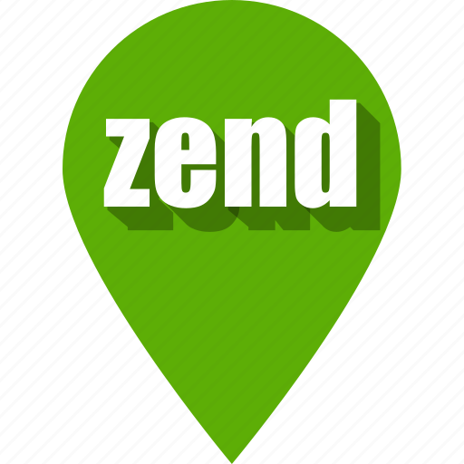 coding, development, pin, programming, web, zend icon