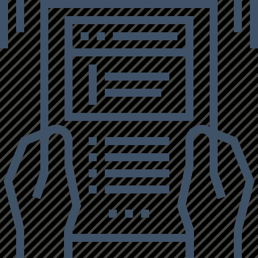 development, document, form, online, project, proposal, website icon