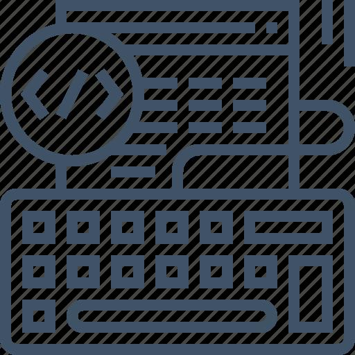 browser, code, coding, development, programming, web, website icon