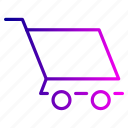 cart, checkout, fast, trolley icon