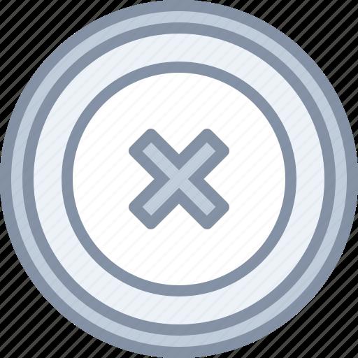 cancel, cross, delete, remove, web icon