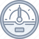 dashboard, gauge, speed, web icon