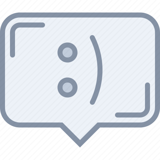 chat, conversation, message, sms, text, web icon