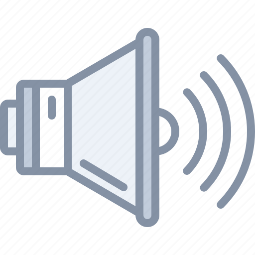 audio, multimedia, sound, volume, web icon