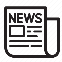 news, newspaper, periodical, subscribe icon