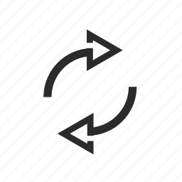 actualize, arrow, arrows, reload icon