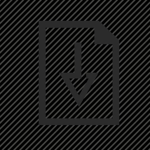 download, downloads, file, files icon