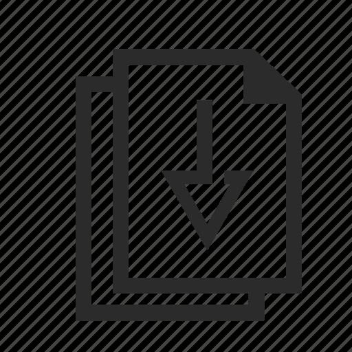 archive, download, downloadfiles, files icon